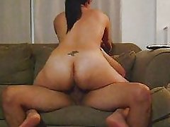 SLUT WIFE RIDING BEST FRIEND'S COCK