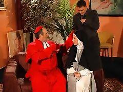 Nun Pays Her Penance !