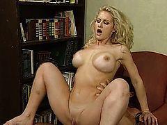 Big tits blondes nailed with dedication