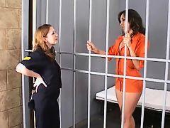 lesbian jailer and a prisoner