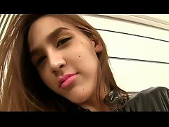 Beauty LadyBoy Showing Her Cock BVR