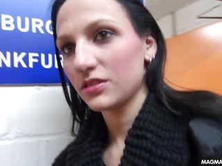 magma film hot brunette likes anal