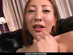Erena Aihara loves touching herВpussy in naughty ways
