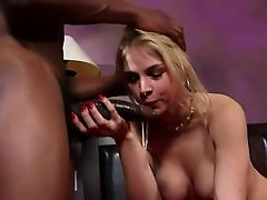 deepthroat big black cock