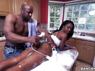 chanell heart gets her ass massaged and fucked