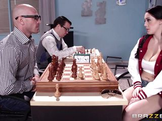noelle gets fucked over a game of chess