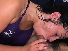 Busty girlfriend best anal