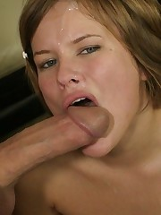 Cute Young Amateur Gets Fucked Anal