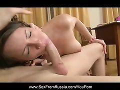 Natural Tits Russian Beauty Teen