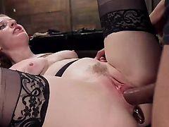 Bondage Slave Gets Every Hole Filled