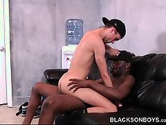 Colin James Learns To Take Black Cock