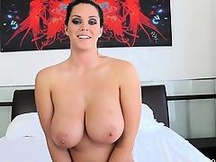 Alison\'s Topless Interview