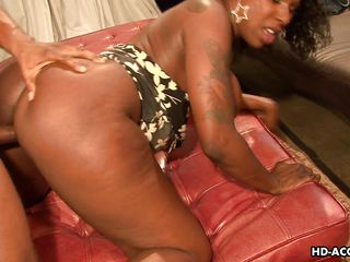 sexy ebony gets fucked hard and long