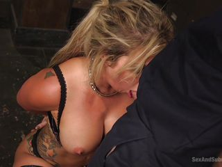 busty whore gets awfully pounded