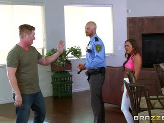 hot slut deepthroats the cop