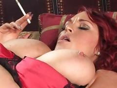 smoking redhead sex