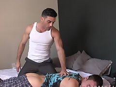 Spanked By Step Dad GAY WEDGIE DOMINATION