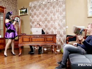 dp loving teen inga devil is a nasty freak
