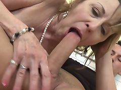 Dirty old mothers fuck young lovers