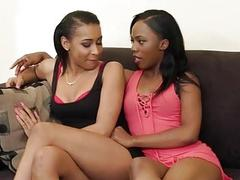 Hot Black Lesbians Know How to Please Each Other!