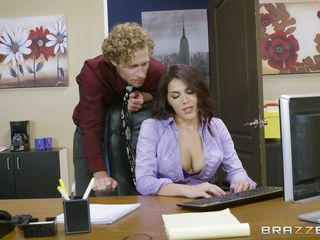 boss valentina makes her employee take care of her feet