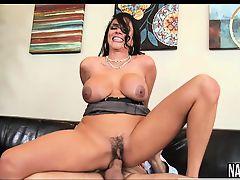 Milg Sexy Big Tits Sucks And Fucks Long Cock Ariella Ferrera