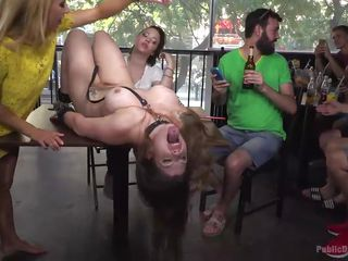 big tit slave takes hard cock in her mouth