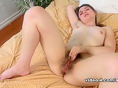 Exotic pornstar Amy Faye in Incredible Masturbation, Small Tits sex scene