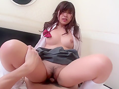 Exotic pornstar Ai Okada in horny asian, pov sex clip