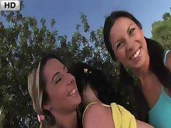 Tina Gabriel Vanessa Mae & Daria Glower