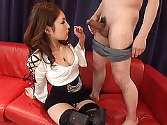Lala Mizuki 1 of 4 blowjob, facial and vibrator