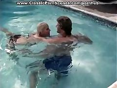 Amazing blonde has excellent underwater fuck in the swimming pool