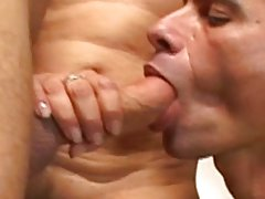 Hardcore bisexual threeway fun