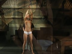 Enema forced on slave girl