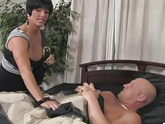 Christian XXX, Richelle Ryan and Shay Fox play dirty games on the bed