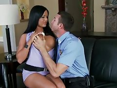 Big Breasted European Slut Angelica Heart Fucking the Police