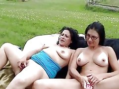 Whipping Hot Butts Outdoors