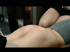 Short whipping scene