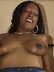 Bedroom Banged Black Babe