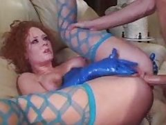 MILF Audrey Hollander Anal in Latex part 2