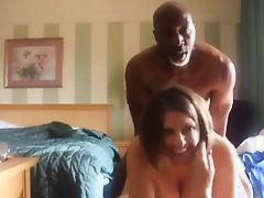 She hires a man to shoot taken doggy style